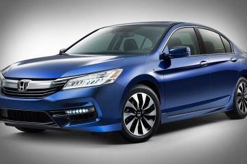 2017 Honda Accord Hybrid car