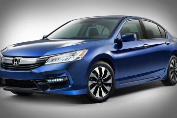 2017 Honda Accord Hybrid car