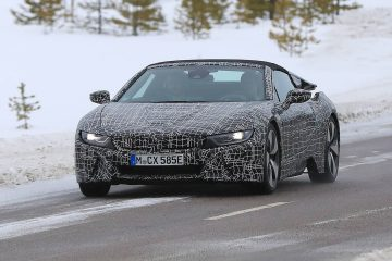 Prototype Bmw I8 Spyder 2018 Unveiled Unofficially