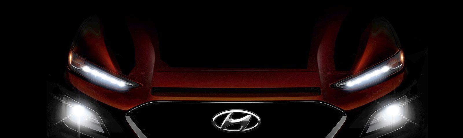 Hyundai First Release Trailer of New Suv Kona