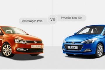 Compare Volkswagen Polo vs Hyundai i20