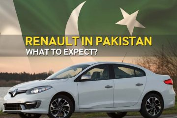 Renault cars in Pakistan