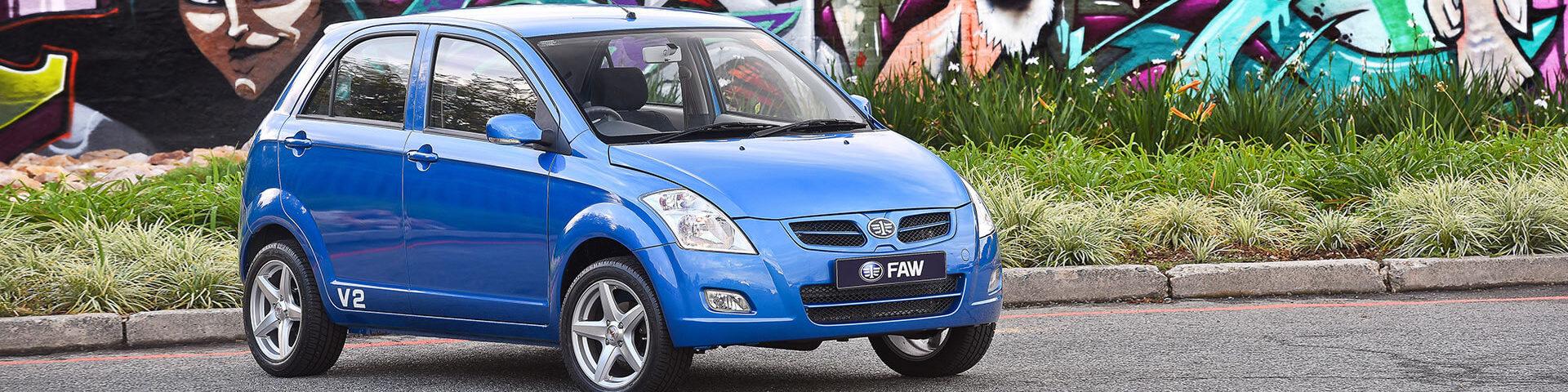 Faw 2018 V2 Car