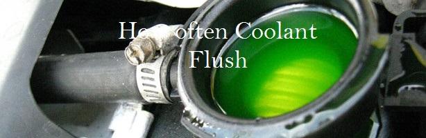 How often Coolant Flush