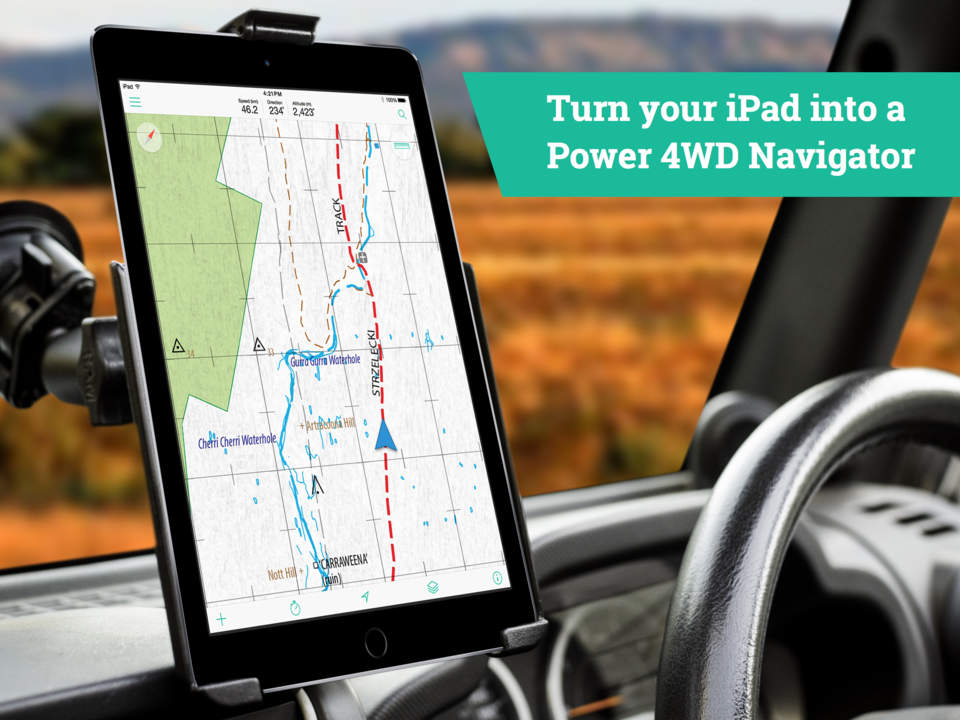 Top Off Road Navigation And Gps Systems For Australia