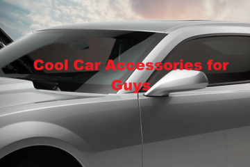 Cool Car Accessories for Guys