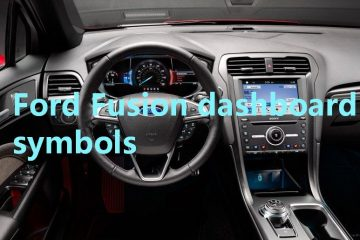 Ford Fusion Dashboard Symbols