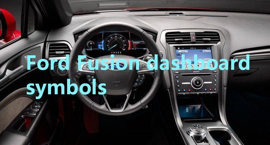 Ford Fusion Dashboard Symbols