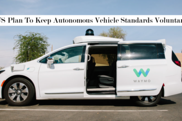 US Plan To Keep Autonomous Vehicle Standards Voluntary