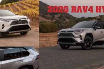 2020 Rav4 Hybrid