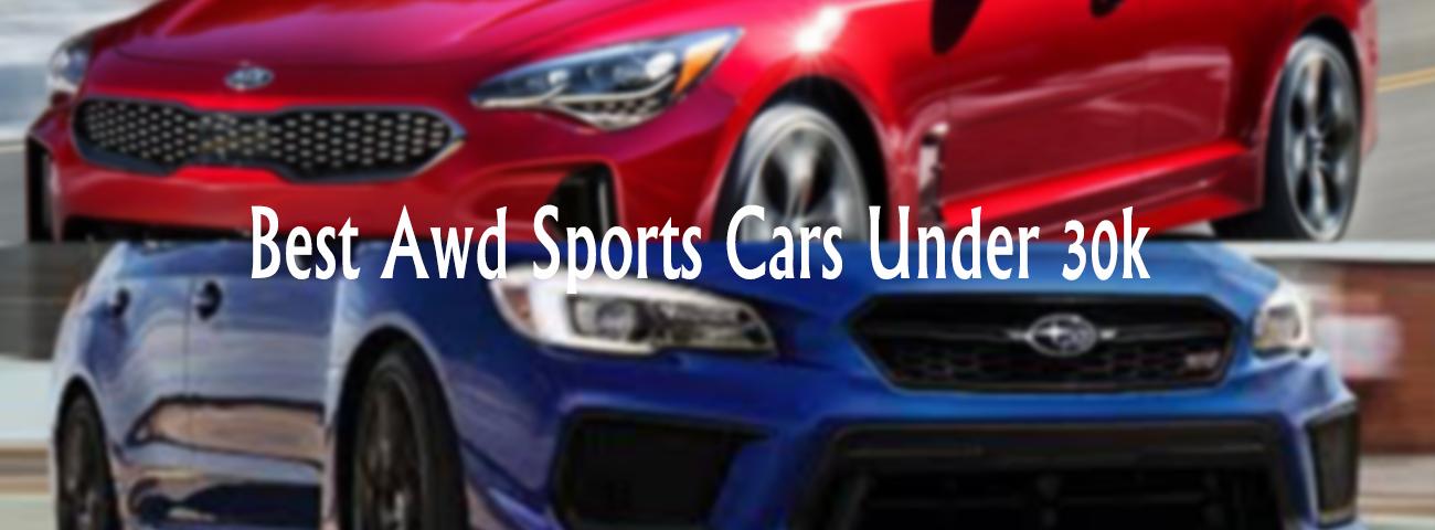 Best Awd Sports Cars Under 30k