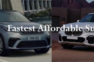 Fastest Affordable Suvs