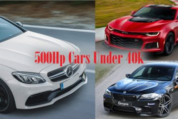 500hp cars under 40k