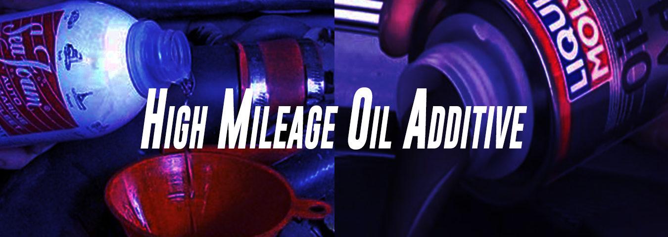 High Mileage Oil Additive