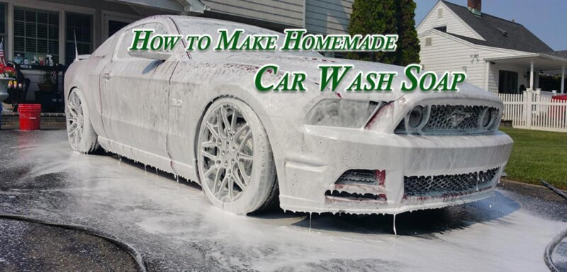 How to Make Homemade Car Wash Soap