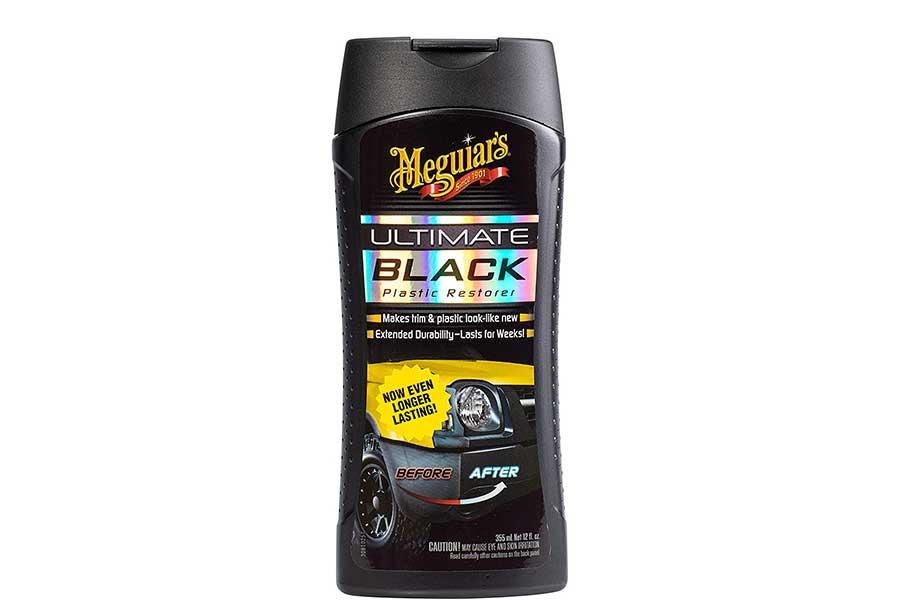 Restore Black Trim Around Car Windows