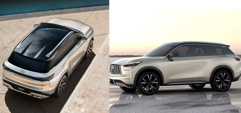 Infiniti Qx60 Next-Generation 3-Row Suv 2021