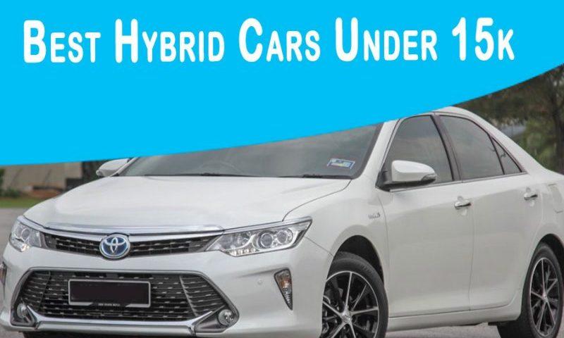 Best Hybrid Cars Under 15k