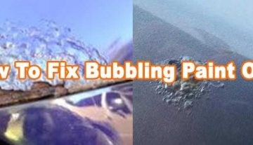 How To Fix Bubbling Paint On Car