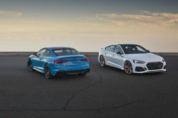 RS 4 Avant and RS 5 family