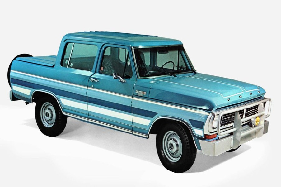 7 Ford Pickup Trucks America Never Got