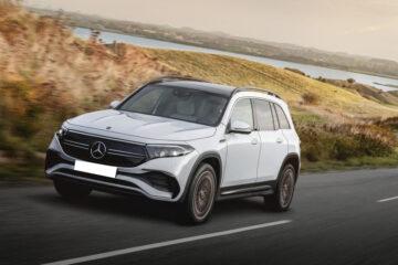 Mercedes EQB electric SUV 2022 revealed