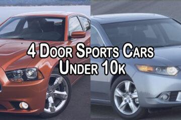 4 Door Sports Cars Under 10k