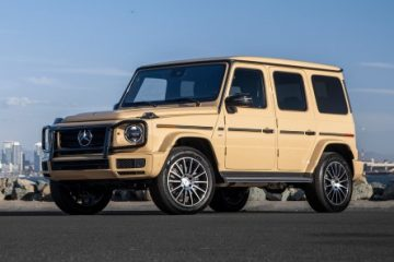 The Mercedes-Benz G-Class Hybrid and EQG Electrify the G-Wagen