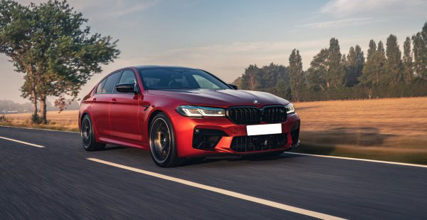Driving BMW's M5 Plus—a 4-Door Sedan That Competes With Supercars