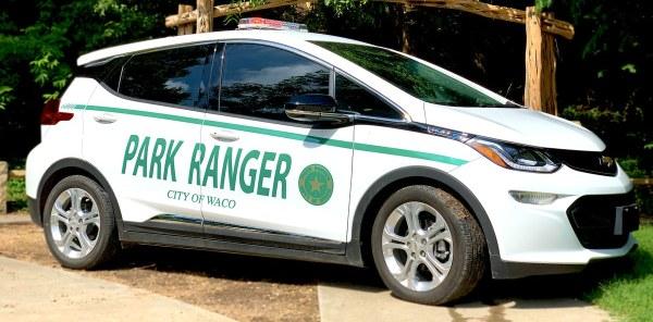 Waco park rangers get their first electric car