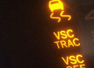 Toyota Rav4 Check Engine Light Vsc and 4wd On