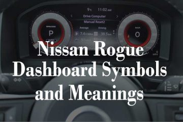 Nissan Rogue Dashboard Symbols and Meanings