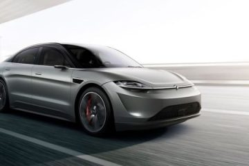 Sony Vision-S electric sedan: Is Sony going to build a car, or what?